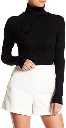 SKULL CASHMERE Chi Ribbed Turtleneck $218.50 thestylecure.com
