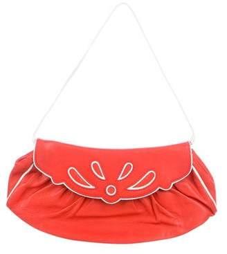 Celine Pleated Leather Mini Bag