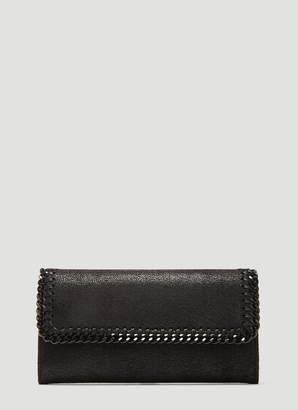 Stella McCartney Falabella Chain Wallet in Black