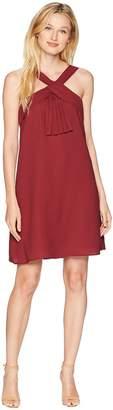 CeCe Brianna - V-Neck Pleat Front Dress Women's Dress