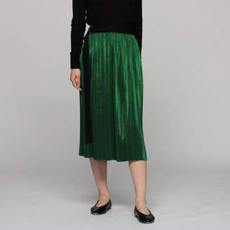 Beautiful People (ビューティフル ピープル) - ビューティフルピープル metallic jerseypleats wrap skirt