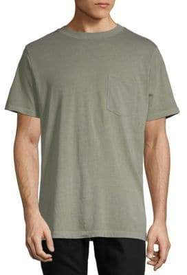 Alexander Wang Solid Cotton Short Sleeve Tee