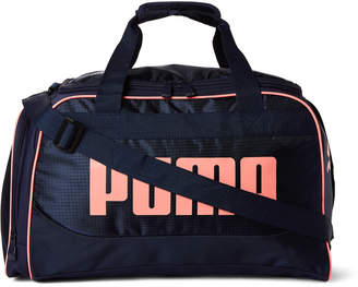 "Puma 19"" Navy & Pink Dispatch Duffel"