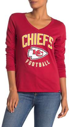 '47 Kansas City Chiefs Long Sleeve Graphic T-shirt