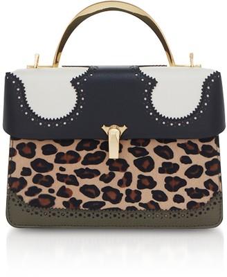 THE VOLON Leopard Print Data Alice 2 Bag