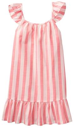 Crazy 8 Stripe Ruffle Dress