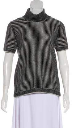 Malo Striped Cashmere Top