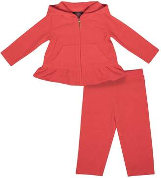Couture Juicy CoutureJuicy 100% Juicy Ruffled Microterry Track Set For Baby