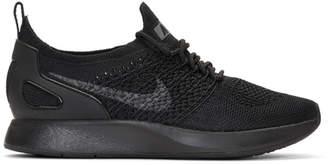 Nike Black Air Zoom Mariah Racer Sneakers