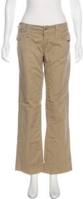 Dolce & Gabbana Low-Rise Wide-Leg Pants
