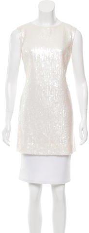 Chanel Sequin-Embellished Sleeveless Tunic