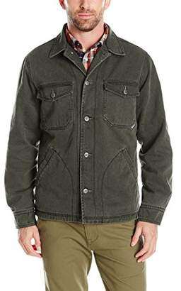 Woolrich Men's Dorrington Twill Shirt Jacket