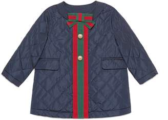 Gucci Baby nylon padded coat