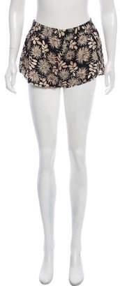 Stella McCartney Mini Silk Shorts