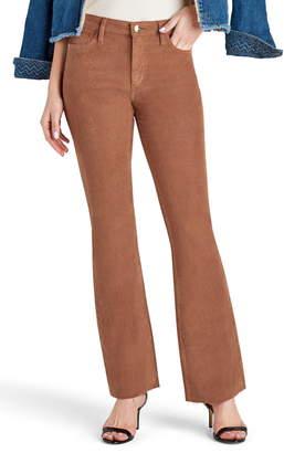 Sam Edelman The Stiletto Rustic Corduroy Raw Edge Bootcut Pants