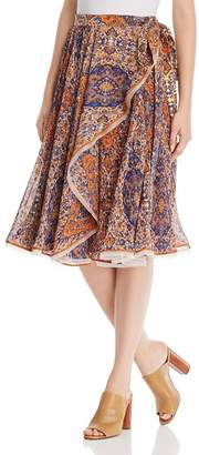 Tory Burch Quincy Wrap Skirt