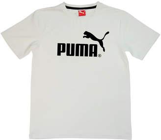 Puma Kids Apparel Short Sleeve Crew Neck T-Shirt-Big Kid Boys