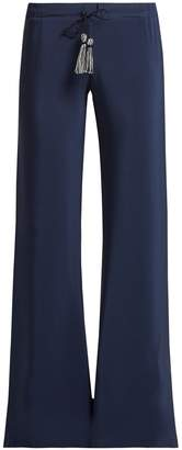 ZEUS + DIONE Alcestes drawstring silk trousers