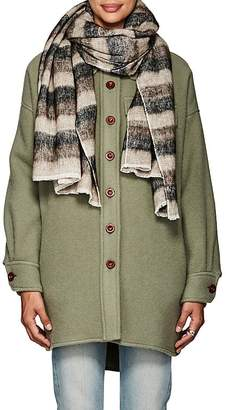 Denis Colomb Women's Hokkaido Kera Striped Cotton-Yak Wool Stole