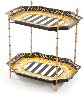 Mackenzie Childs MacKenzie-Childs Queen Bee Tray Table