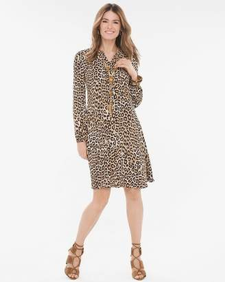 Chico's Chicos Leopard-Print Dress