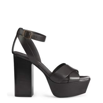 Saint Laurent Ankle Strap Sandals