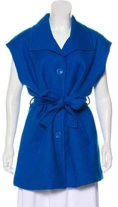 Trina Turk Textured Short Sleeve Shirt Dress