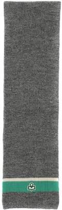 Isabel Marant Grey Wool Helona Scarf