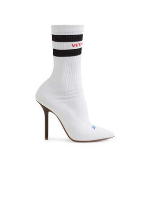 Sexual Fantasies Sock Boots - White - Size IT41