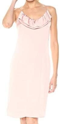 BCBGeneration Women's Ruffled Slip Dress