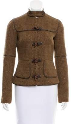 Mayle Herringbone Wool Jacket