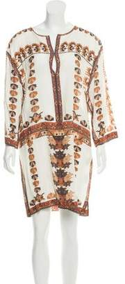 Isabel Marant Embroidered Silk Dress w/ Tags