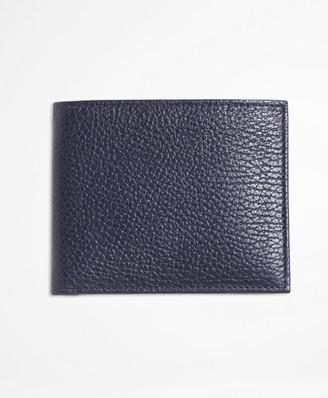 Brooks Brothers Pebble Leather Wallet