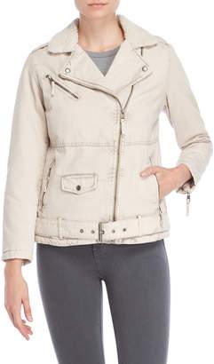 Levi's Sherpa Lined Moto Jacket