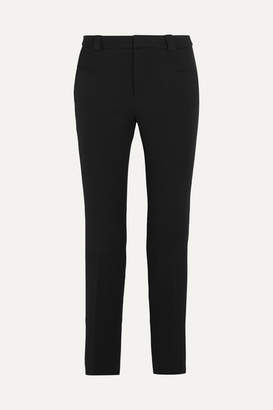 Roland Mouret Lacerta Stretch-crepe Straight-leg Pants - Black