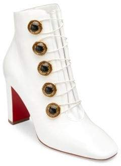 Christian Louboutin Lady See 85 Leather Booties