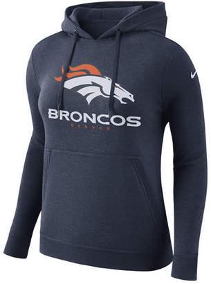 Nike Women Denver Broncos Club Pullover Hoodie