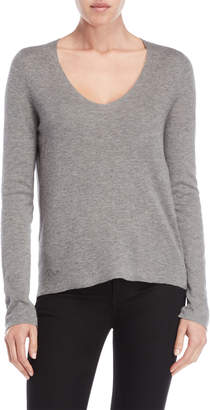 Zadig & Voltaire Embellished Scull Long Sleeve Tee