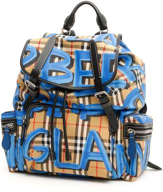 Burberry Large Vintage Check Rucksack