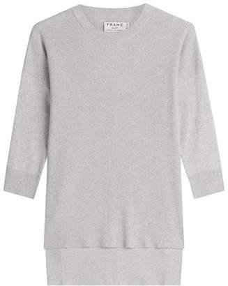 Frame Cotton-Silk-Cashmere Le Boxy Pullover