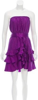 Rebecca Minkoff Silk Strapless Dress