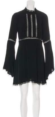 For Love & Lemons Long Sleeve Midi Dress