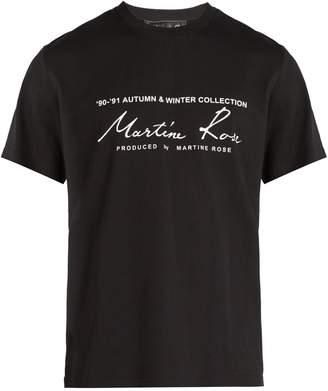 Martine Rose Logo-printed T-shirt