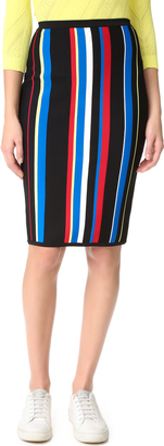 Versace Striped Skirt $1,075 thestylecure.com