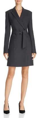 Theory New Pure Flannel Blazer Dress