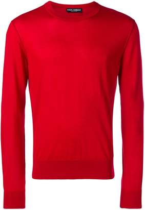 Dolce & Gabbana knit crew neck sweater