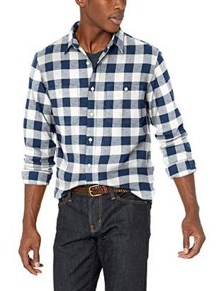 Buffalo David Bitton J.Crew Mercantile Men's Slim-Fit Long-Sleeve Check Flannel Shirt