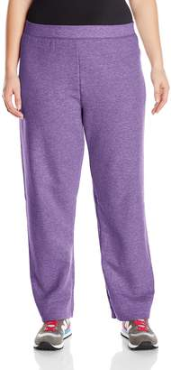 Just My Size Women's Plus-Size Fleece Pant