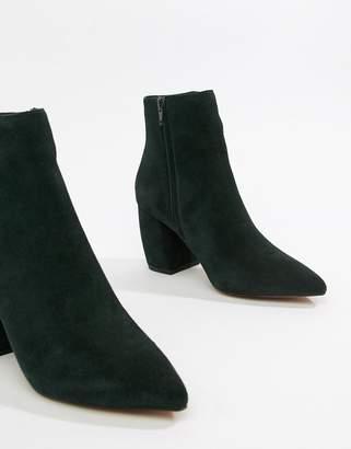 Asos DESIGN Radius suede ankle boots