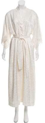 Christian Dior Patterned Nightgown Set